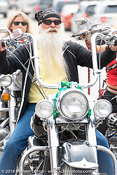 Main Street during the 78th annual Sturgis Motorcycle Rally. Sturgis, SD. USA. Sunday August 5, 2018. Photography ©2018 Michael Lichter.