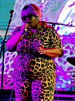 Sister Cookie at the Also Festival 2021 at Cpmton Verney,photo by Mark Anton Smith<br /> .
