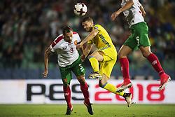 August 31, 2017 - Sofia, BULGARIEN - 170831 under VM-kvalmatchen i fotboll mellan Bulgarien och Sverige den 31 augusti 2017 i Sofia  (Credit Image: © Joel Marklund/Bildbyran via ZUMA Wire)