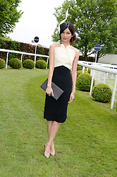 GEMMA CHAN at the Investec Derby 2013 held at Epsom Racecourse, Epsom, Surrey on 1st June 2013.