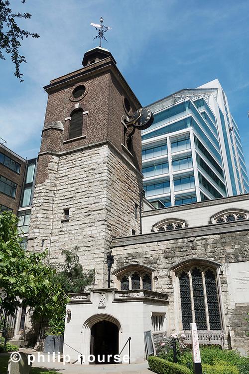 St Olave's Church, Hart Street, City of London