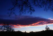 Sunrise on the millenium, January 1, 2000.