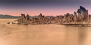 Limestone Formations at Mono Lake California