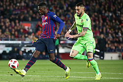 January 17, 2019 - Barcelona, Catalonia, Spain - Ousmane Dembele during the match between FC Barcelona and Levante UD, corresponding to the 1/8 final of the spanish cup, played at the Camp Nou Stadium, on 17th January 2019, in Barcelona, Spain. (Credit Image: © Joan Valls/NurPhoto via ZUMA Press)