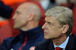 Arsenal Manager, Arsene Wenger - Photo mandatory by-line: Alex James/JMP - Tel: Mobile: 07966 386802 22/10/2013 - SPORT - FOOTBALL - Emirates Stadium - London - Arsenal v Borussia Dortmund - CHAMPIONS LEAGUE - GROUP F