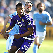 NEW YORK, NEW YORK - May 29:  Tommy Redding #29 of Orlando City FC in action during the New York City FC Vs Orlando City, MSL regular season football match at Yankee Stadium, The Bronx, May 29, 2016 in New York City. (Photo by Tim Clayton/Corbis via Getty Images)