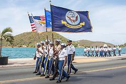 St. Thomas Memorial Day Ceremony and Parade.  Franklin D. Roosevelt Veterans Park.  St. Thomas, USVI.  30 May 2016.  © Aisha-Zakiya Boyd