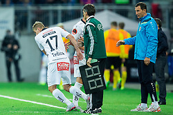 Tadej Trdina of WAC during football match between WAC Wolfsberg (AUT) and  Borussia Dortmund (GER) in First leg of Third qualifying round of UEFA Europa League 2015/16, on July 30, 2015 in Wörthersee Stadion, Klagenfurt, Austria. Photo by Vid Ponikvar / Sportida