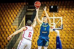 Matic Rebec of Slovenia during friendly basketball match between Slovenia and Croatia , on September 8, 2018 in Arena Zlatorog, Celje, Slovenia. Photo by Ziga Zupan / Sportida