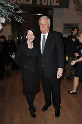 HE LOUIS SUSMAN US ambassador to the UK and his wife MARJORIE SUSMAN at a private view of the Royal Academy's Modern British Sculpture exhibition held at Burlington House, Piccadilly, London on 18th January 2011.