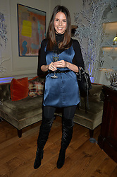 LONDON, ENGLAND 1 DECEMBER 2016: Stephanie Peers at the Smythson & Brown's Hotel Christmas Party held at Brown's Hotel, Albemarle St, Mayfair, London, England. 1 December 2016.