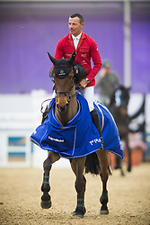 Schwizer Pius (SUI) - Ulysse<br /> CHI Al Shaqab - Doha 2013<br /> © Dirk Caremans