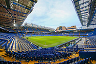 General view inside the Stamford Bridge stadium before the The FA Cup match between Chelsea and Manchester United at Stamford Bridge, London, England on 18 February 2019.