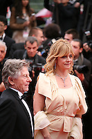 Roman Polanski, Director and  Nastassja Kinski, actress  arriving at the Vous N'Avez Encore Rien Vu gala screening at the 65th Cannes Film Festival France. Monday 21st May 2012 in Cannes Film Festival, France.