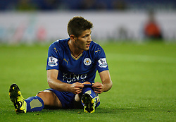 Andrej Kramaric of Leicester City looks dejected  - Mandatory byline: Jack Phillips/JMP - 07966386802 - 22/09/2015 - SPORT - FOOTBALL - Leicester - King Power Stadium - Leicester City v West Ham United - Capital One Cup Round 3