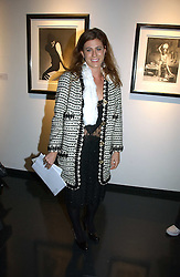 FRANCESCA VERSACE at an exhibition of late photographer Horst entitled 'Horst Platinum' at the Hamiltons Gallery, 13 Carlos Place, London on 28th November 2006.<br /><br />NON EXCLUSIVE - WORLD RIGHTS