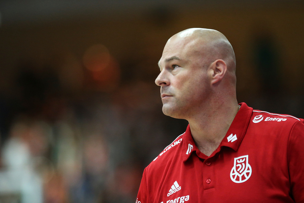 BASKETBALL: VTG Supercup 219, Deutschland - Polen, Hamburg, 18.08.2019<br /> Trainer Mike Taylor (Polen, auch Hamburg Towers)<br /> © Torsten Helmke
