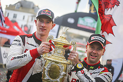 October 29, 2017 - Grande Bretagne - EVANS VAINQUEUR DU RALLYE (Credit Image: © Panoramic via ZUMA Press)