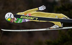 Peter Prevc of Slovenia during Flying Hill Individual at 2nd day of FIS Ski Jumping World Cup Finals Planica 2011, on March 18, 2011, Planica, Slovenia. (Photo by Vid Ponikvar / Sportida)
