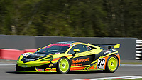 #20 Graham Johnson / Michael O'Brien Balfe Motorsport McLaren 570S GT4 Pro/Am GT4  during British GT Championship as part of the British F3 / GT Championship at Oulton Park, Little Budworth, Cheshire, United Kingdom. April 20 2019. World Copyright Peter Taylor/PSP. Copy of publication required for printed pictures.