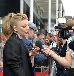 Edinburgh International Film Festival, Tuesday, 26th June 2018<br /> <br /> IN DARKNESS (EUROPEAN PREMIERE)<br /> <br /> Pictured:   Natalie Dormer<br /> <br /> (c) Aimee Todd | Edinburgh Elite media