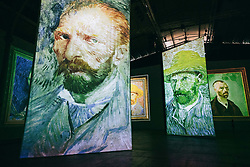 Imagine Van Gogh exhibition at La Villette, from june 23rd to sept 10th 2017