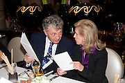 WILLIAM SHAWCROSS, Graydon Carter hosts a dinner to celebrate the reopening og the American Bar at the Savoy.  Savoy Hotel, Strand. London. 28 October 2010. -DO NOT ARCHIVE-© Copyright Photograph by Dafydd Jones. 248 Clapham Rd. London SW9 0PZ. Tel 0207 820 0771. www.dafjones.com.