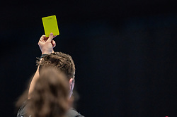 Yellow card during the Women's friendly match between Netherlands and Slovenia at De Maaspoort on march 19, 2021 in Den Bosch, Netherlands (Photo by RHF Agency/Ronald Hoogendoorn)