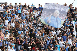 April 29, 2018 - Florence, Florence, Italy - 29th April 2018, Stadio Artemio Franchi, Florence, Italy; Serie A Football, Fiorentina versus Napoli; supporters of Napoli cheer for their team before the match  Credit: Giampiero Sposito/Pacific Press (Credit Image: © Giampiero Sposito/Pacific Press via ZUMA Wire)