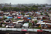 The impoverished Oriya Basti colony in Bhopal, Madhya Pradesh, is located near the former Union Carbide (now DOW Chemical) industrial complex.