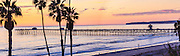 Sunset at the Pier in San Clemente