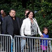 NLD/Leusden/20120920- Uitvaart Joop van Tellingen, Lesley Williams