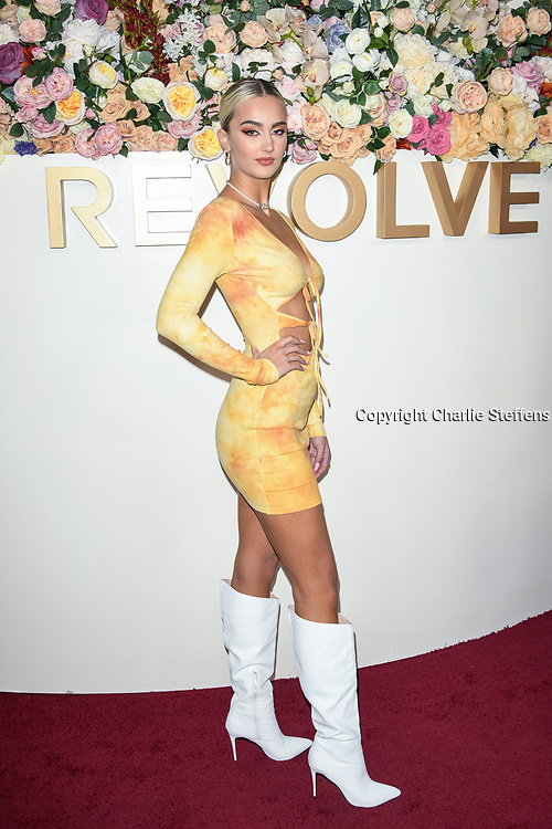 SUEDE BROOKS attends the 3rd Annual #REVOLVEawards at Goya Studios in Los Angeles, California