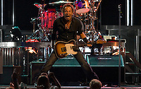 Bruce Springsteen and the E Street Band perform at the Sommet Center in Nashville, Tennessee on Thursday, August 21, 2008.  (Photo by Frederick Breedon IV) Photo © Frederick Breedon. All rights reserved. Unauthorized duplication prohibited.