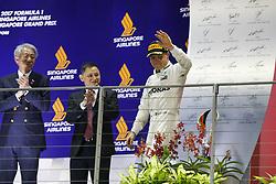 September 17, 2017 - Singapore, Singapore - Motorsports: FIA Formula One World Championship 2017, Grand Prix of Singapore, ..#77 Valtteri Bottas (FIN, Mercedes AMG Petronas F1 Team) (Credit Image: © Hoch Zwei via ZUMA Wire)