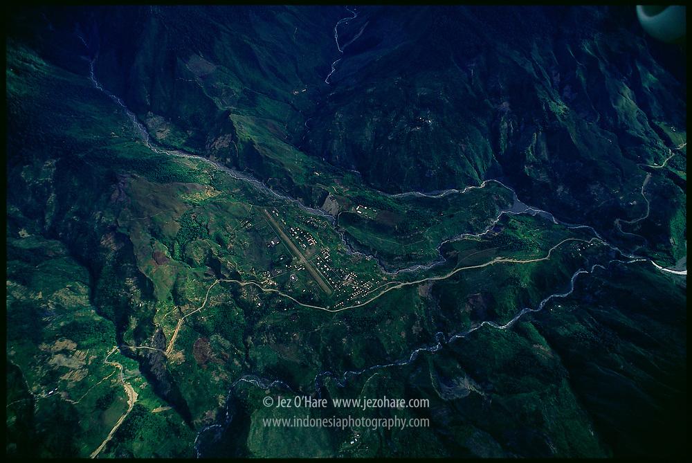 Ilu, Puncak Jaya, Papua, Indonesia.