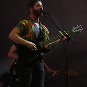 London, England, UK. 16th July 2017. Foals performer at the Citadel Festival at Victoria Park, London, UK.