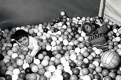 Disabled children's playgroup All Saints Community Centre, Nottingham UK 1988