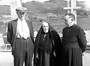 Peig Sayers from The Blasket Islands in 1930's.<br /> Picture by Daniel MacMonagle