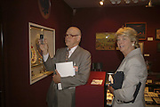 Paul Schaffer and Lady Nicholas Gordon-Lennox, The opening  day of the Grosvenor House Art and Antiques Fair.  Grosvenor House. Park Lane. London. 14 June 2006. ONE TIME USE ONLY - DO NOT ARCHIVE  © Copyright Photograph by Dafydd Jones 66 Stockwell Park Rd. London SW9 0DA Tel 020 7733 0108 www.dafjones.com