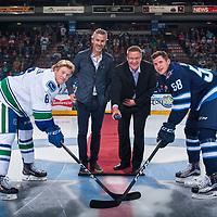 090817 Vancouver Canucks v Winnipeg Jets