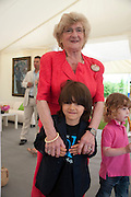 RAENA GREEN; JOSEPH GREEN, The Dalwhinnie Crook  charity Polo match  at Longdole  Polo Club, Birdlip  hosted by the Halcyon Gallery. . 12 June 2010. -DO NOT ARCHIVE-© Copyright Photograph by Dafydd Jones. 248 Clapham Rd. London SW9 0PZ. Tel 0207 820 0771. www.dafjones.com.