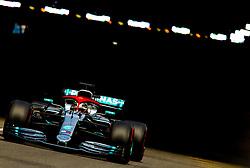 May 25, 2019 - Montecarlo, Monaco - Lewis Hamilton of Great Britain and Mercedes AMG Petronas driver goes during the qualification session at Formula 1 Grand Prix de Monaco on May 25, 2019 in Monte Carlo, Monaco. (Credit Image: © Robert Szaniszlo/NurPhoto via ZUMA Press)