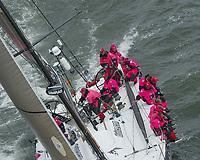 Seiling. Volvo Ocean Race 2001-2002. Syvende etappe. Annapolis (USA) til La Rochelle (FRA). 29.04.2002. Djuice Dragons. Knut Frostad som skipper.<br />Foto: Daniel Forster, Digitalsport