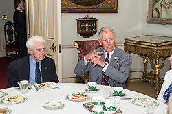 File photo dated 10/06/15 of the Prince of Wales (right) with veteran Flying Officer Ken Wilkinson, one of the last surviving Spitfire pilots from the Battle of Britain, who has died.
