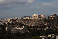The Parthenon and stadium.Photograph by Dennis Brack