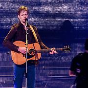 NLD/Hilversum/20180216 - Finale The voice of Holland 2018, winnaar Jim van der Zee