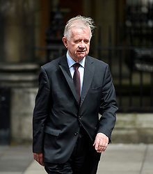 ©  London News Pictures. 05/07/2016. London, UK. Sir John Chilcot, Chairman of the Iraq Inquiry seen in Westminster, central London on July 5, 2016. The the long-awaited Chilcot inquiry into the war in Iraq is due to be released on Wednesday. Photo credit: Ben Cawthra/LNP