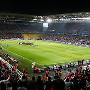 Turkey's and Austria's during their UEFA EURO 2012 Qualifying round Group A soccer match Turkey betwen Austria at Sukru Saracoglu stadium in Istanbul March 29, 2011. Photo by TURKPIX