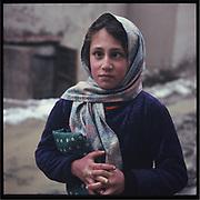A girl in Kabul.
